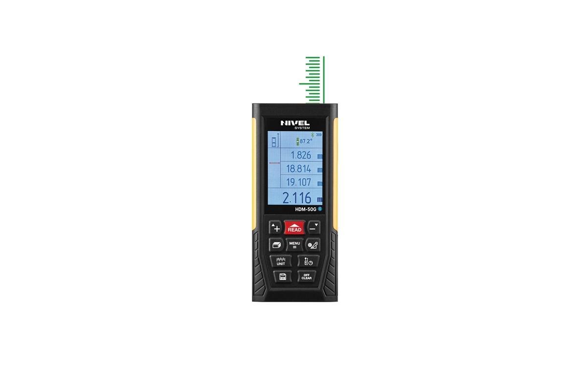 Laser Αποστασιόμετρο Nivel HDM-50G